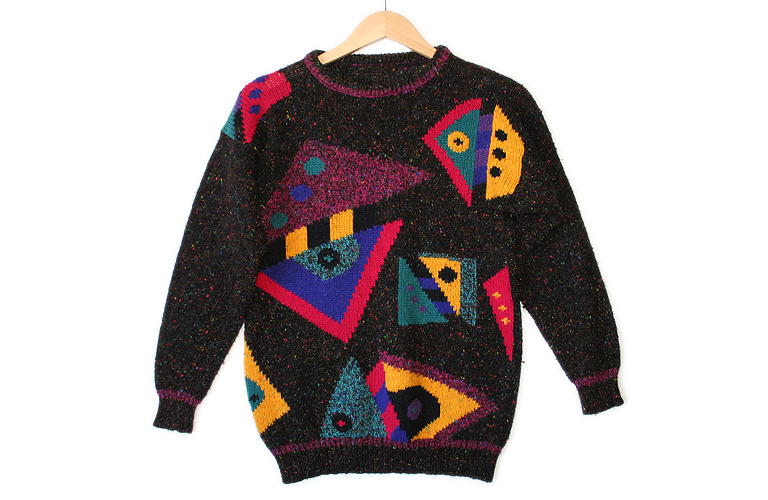 Vintage 80s Tacky Ugly Cosby Sweater for Girls Women's ...