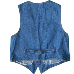 Boots 'n Bling Denim Ugly Vest Women's Size XL