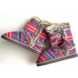 """""""Cierra"""" Ugly Sweater Nordic Knit Mukluk Slippers 2"""