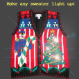 Make your Tacky Ugly Christmas Sweater a Light-Up Sweater with LED Light Kit (White)