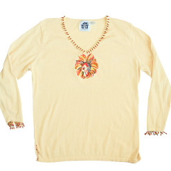 Storybook Knits Lion Sun Beaded Ugly Sweater Women's Plus Size 1X (XL)