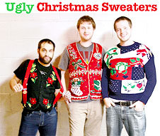 Ugly Christmas Sweaters from The Ugly Sweater Shop
