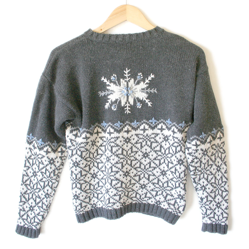 Snowflake christmas sweater