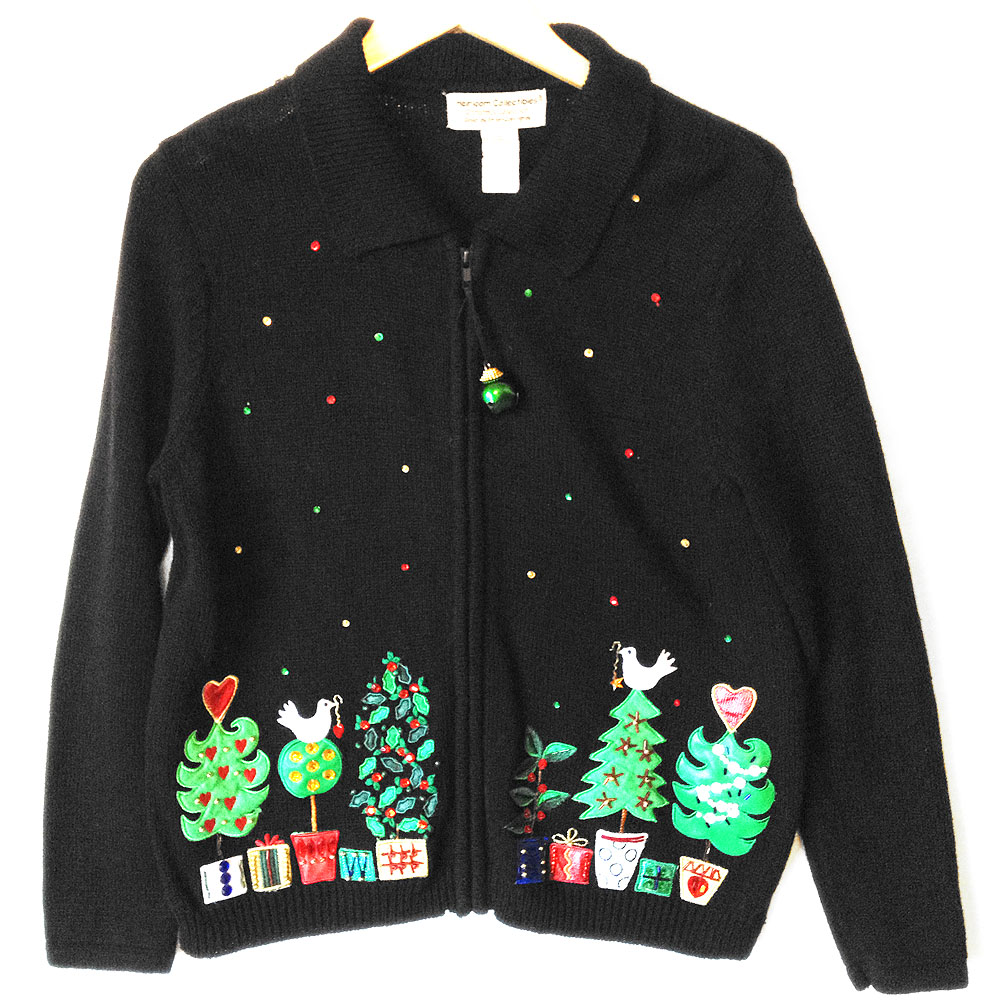... In A Pear Tree Tacky Ugly Christmas Sweater - The Ugly Sweater Shop