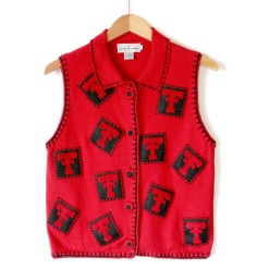 Red Raider Nation Texas Tech Ugly Sweater Vest