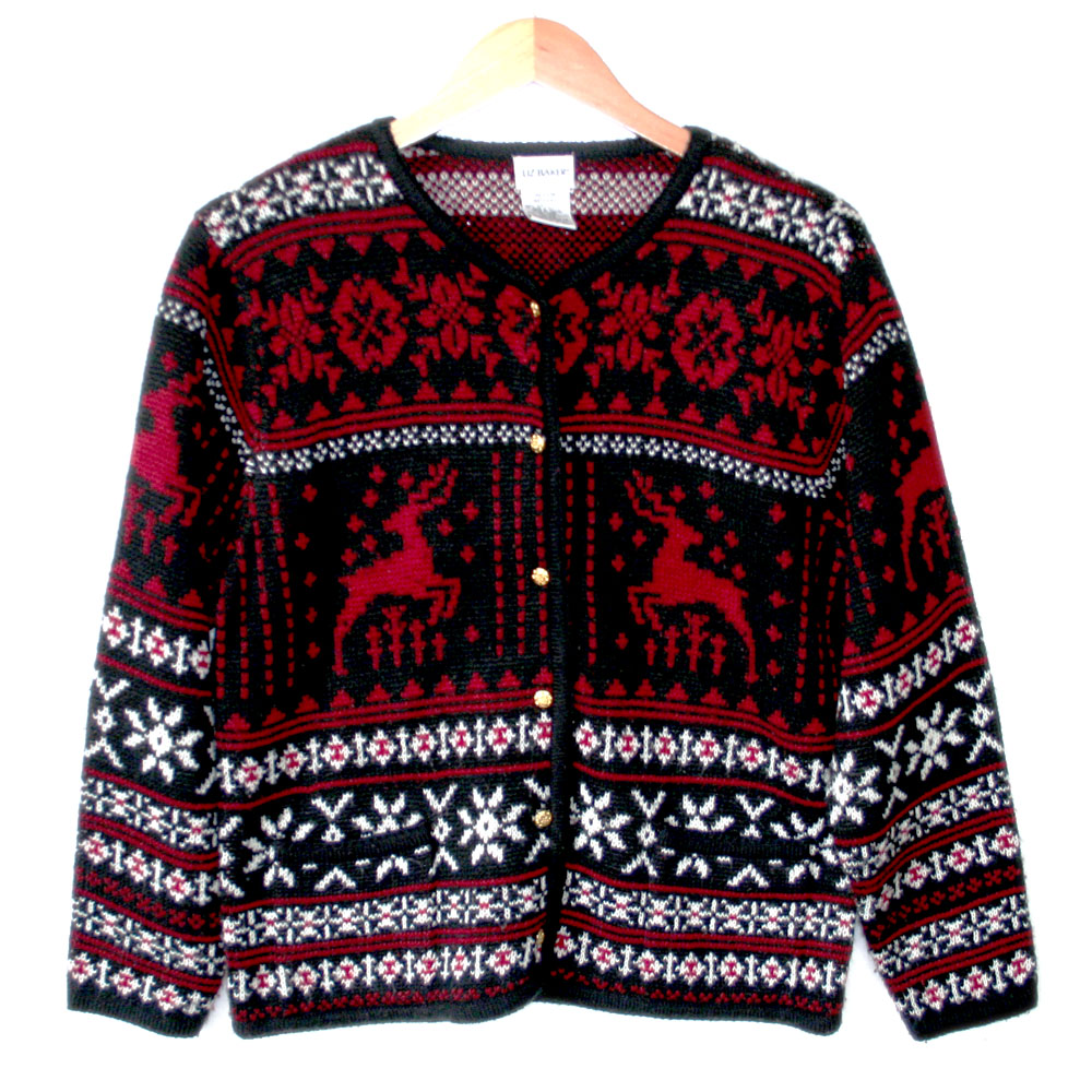 Christmas sweaters with reindeer