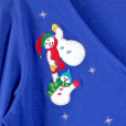 Don't Drop The Baby Snowman Tacky Ugly Christmas Shirt 2