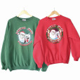 Set of 2 Eskimo Joe's Christmas Sweatshirts (2000 & 2004)