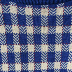 Checkerboard Tablecloth Tacky Ugly Golf Sweater