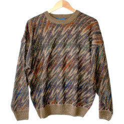 Seismograph Gone Wild Tacky Ugly Cosby Sweater - New!