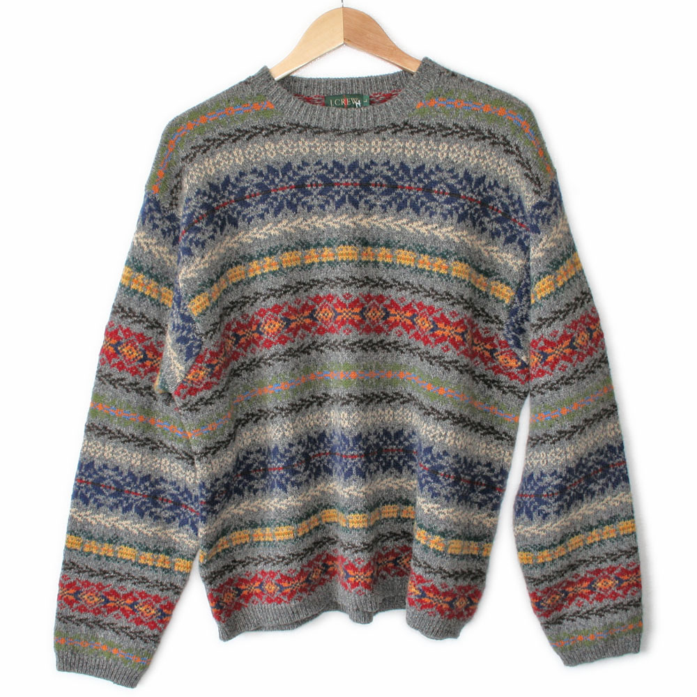 Colorful Sweaters 90s