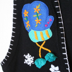 Hats and Mittens Tacky Ugly Christmas Sweater Vest