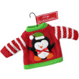 Penguin Ugly Christmas Sweater Ornament