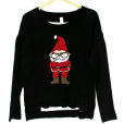 Talk Nerdy To Me Santa Tacky Ugly Christmas Sweater