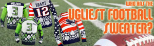 NFL Football Ugly Christmas Sweaters Superbowl Edition