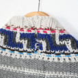 Aztec Tribal Cropped Open Cardigan Shrug Ugly Sweater 3