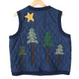 Not Very Manly Lumberjack Quilted Denim Ugly Vest2