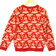 Alex Stevens Pepperoni Pizza Ugly Sweater 2