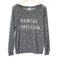 Serial Chiller Semi-Sheer Thin Ugly Sweater
