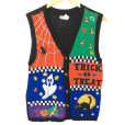 Trick Or Treat Halloween Tacky Ugly Sweater Vest
