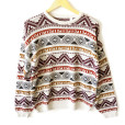 Vintage 80s Men's Tribal Aztec Ski Ugly Sweater