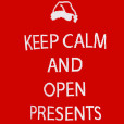 Alex Stevens Keep Calm and Open Presents Ugly Christmas Sweater 2