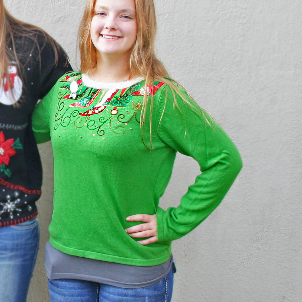 Christmas Sweater Pattern Called - Sweater Vest