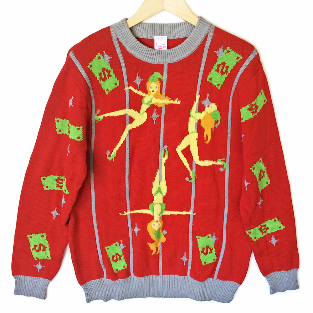 Funny tacky christmas sweaters