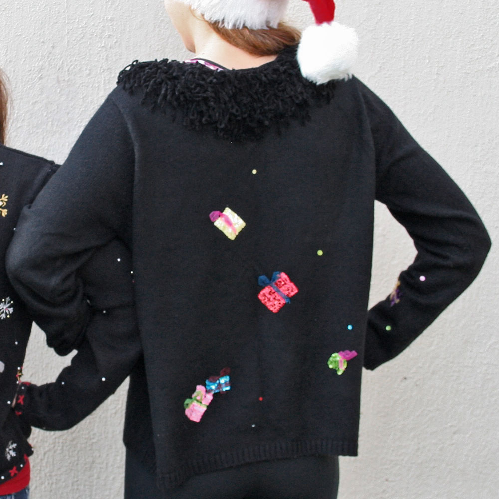 Sequin christmas sweater