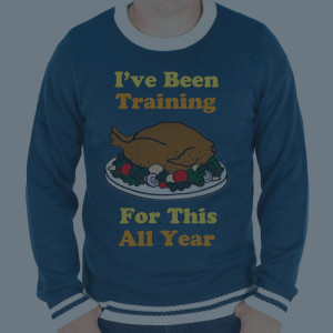 ugly thanksgiving sweater in men's sizes up to 4XL