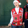 Mittens Christmas Trees + Snowmen Tacky Ugly Christmas Vest