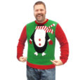 Dude, I'm A Penguin! Tacky Ugly Christmas Sweater