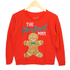 The Perfect (Gingerbread) Man Ugly Christmas Sweatshirt