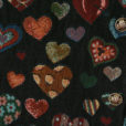 Gloomy Hearts Valentines Day Tapestry Fabric Ugly Sweater Vest 2