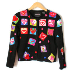 Queen of Hearts 3D Valentines Day Tacky Ugly Sweater