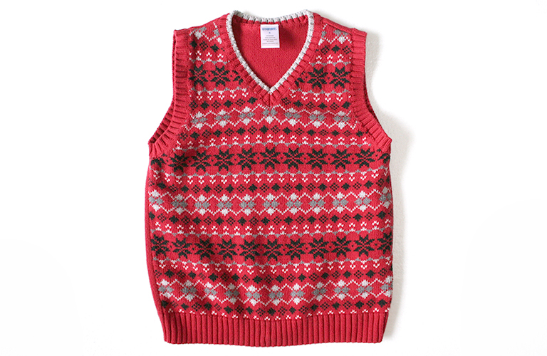 Gymboree Nordic Snowflake Tacky Ugly Christmas Sweater Vest Little ...
