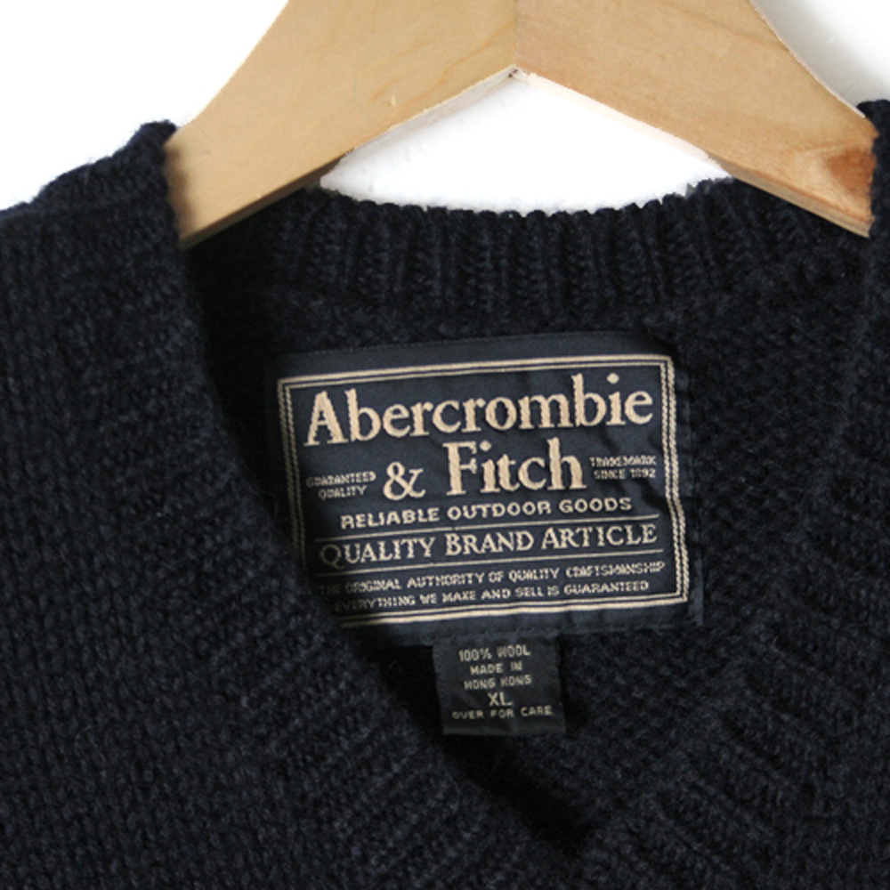Abercrombie fitch classic wool ugly ski sweater the for Abercrombie salon supplies