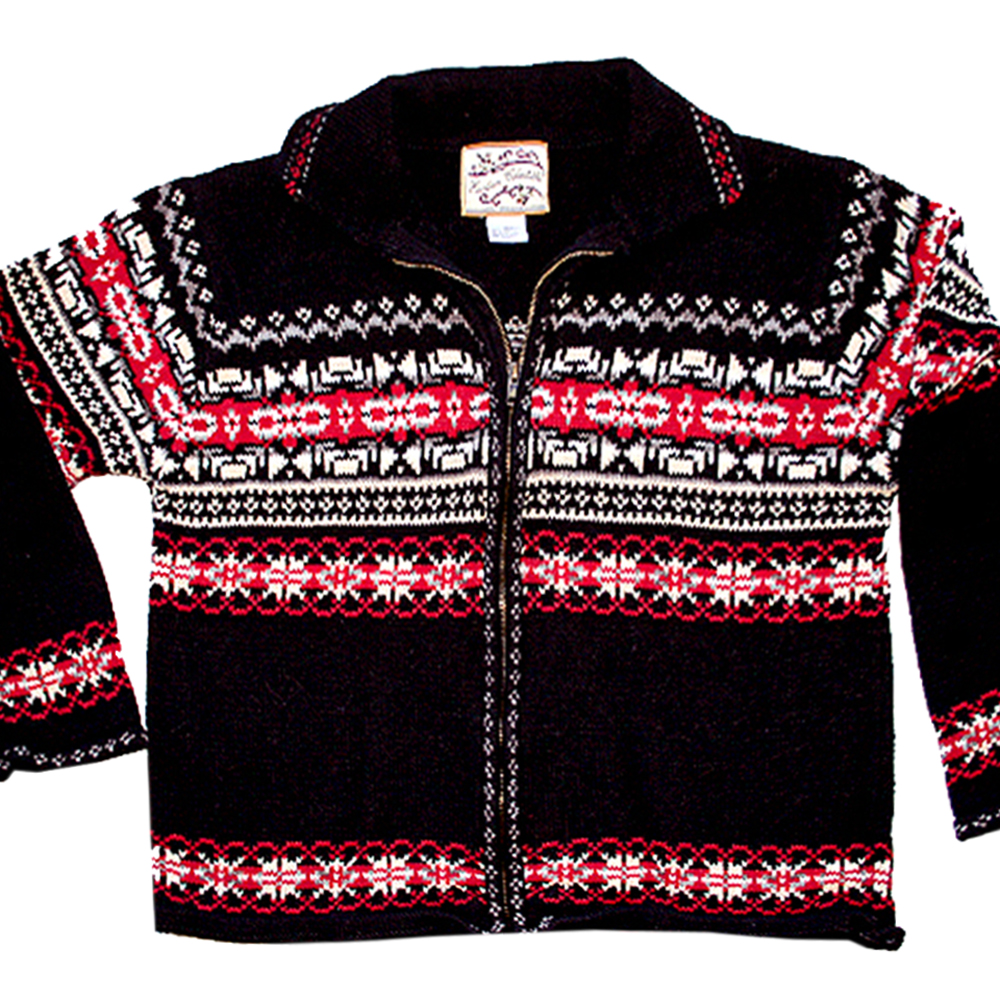Fair Isle Nordic Zip Front Ugly Ski Sweater The Ugly