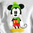 Disney Mickey Mouse Ugly Christmas Hoodie Sweatshirt Women's Size Large (L) 1