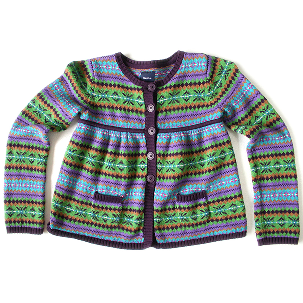 Gap Kids Fair Isle Nordic Babydoll Ugly Sweater - The Ugly Sweater ...