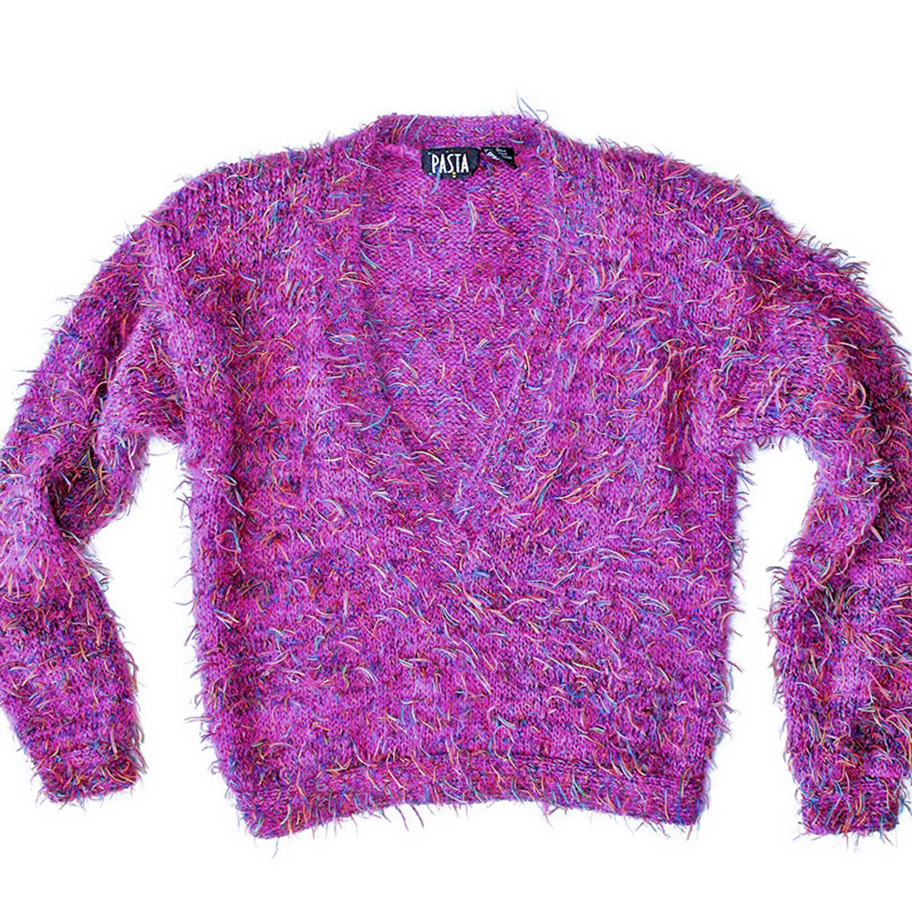 Shaggy Muppet Purple / Pink Hairy Ugly Sweater - The Ugly Sweater Shop