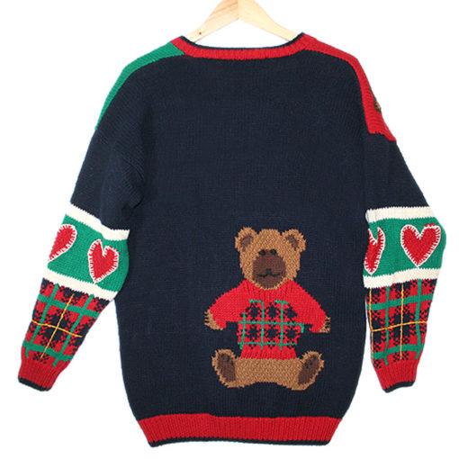 Teddy Bears and Hearts Vintage 90s Chunky Tacky Valentines ...