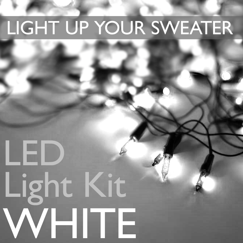 Light Up Your Ugly Christmas Sweater With Battery Operated