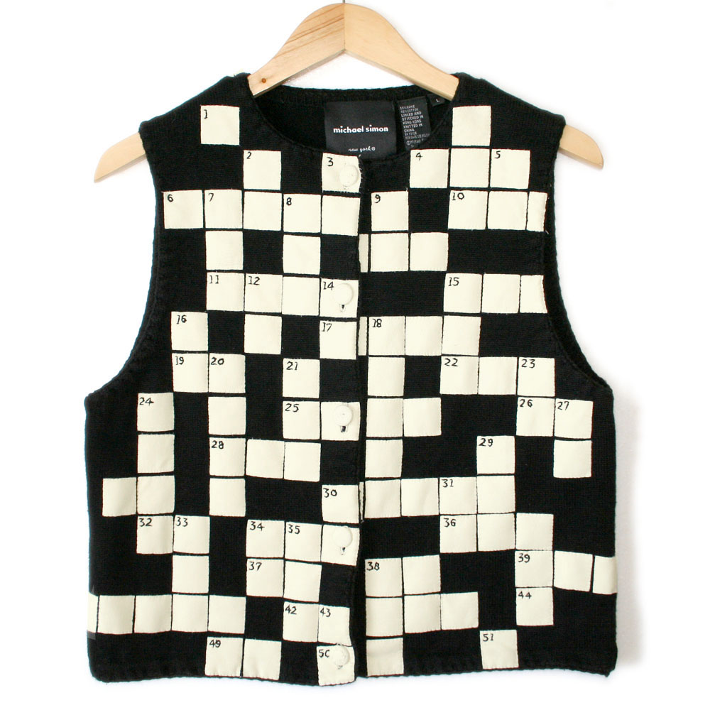 Vest  Letters Crossword
