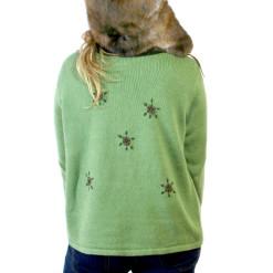 """Santa Wears A Fur Coat"" Ugly Christmas Sweater"