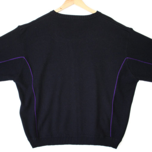 Ugly Sweater for UPS Delivery Guy? Fed Ex Zip Front Sweater