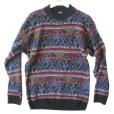 Vintage 80s Generra Men's Nordic Cosby Sweater