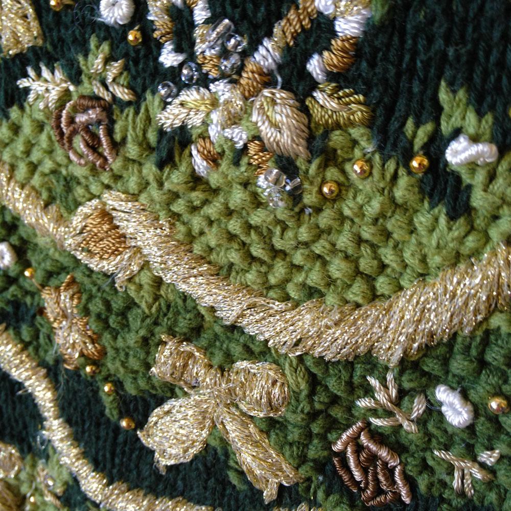 Big W White Christmas Tree: Big Christmas Tree Tacky Ugly Christmas Sweater