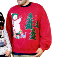 DIY Hot Mess Tacky Ugly Christmas Sweatshirt