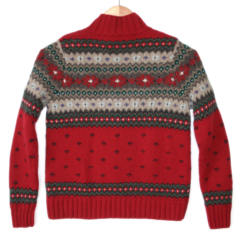 Ralph Lauren Wooly Fair Isle Ugly Ski Sweater - The Ugly Sweater Shop
